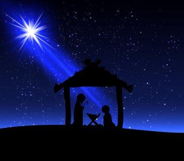 Jesus on Christmas night