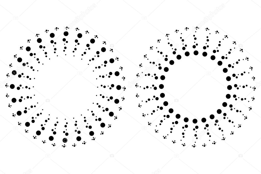 reich verzierte Kreis Rahmen Etiketten — Stockvektor © wissanustock ...