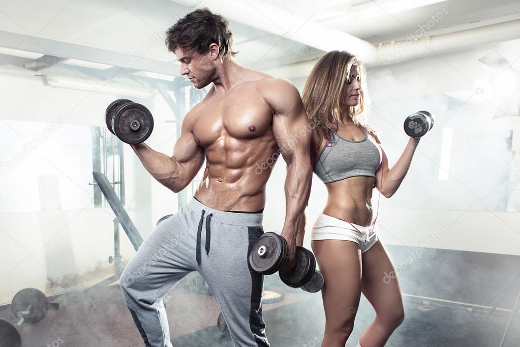 Porno Workout im Deutschen Fitness Studio