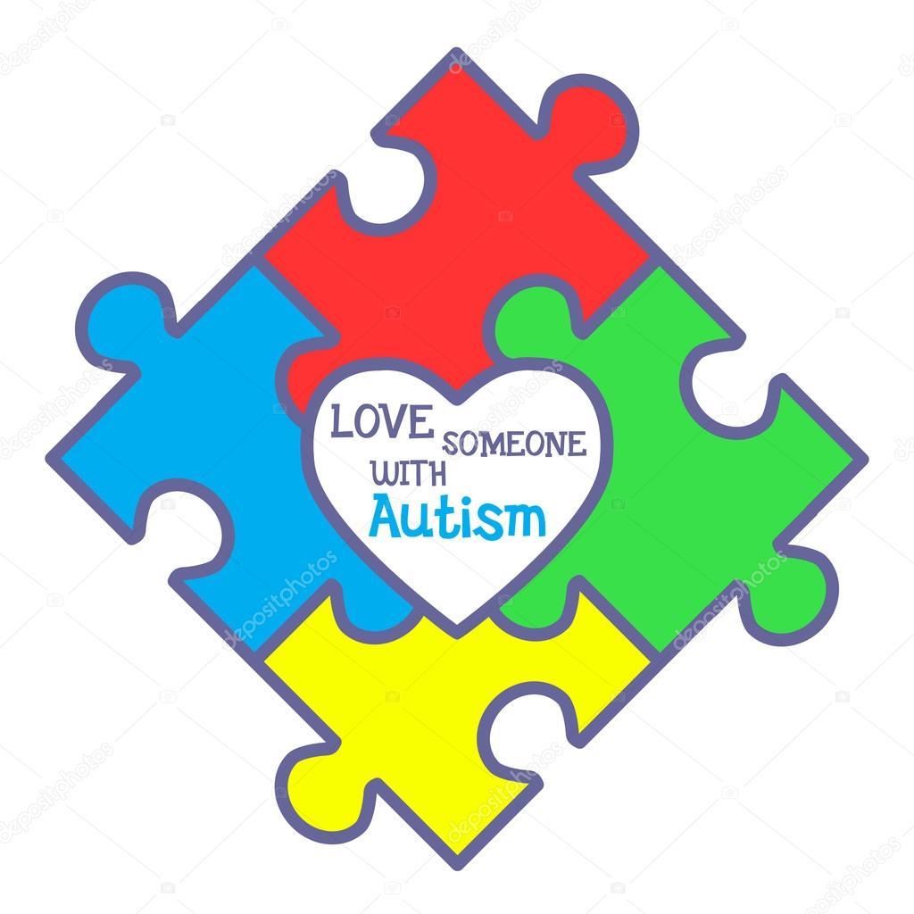 World Autism Awareness Day Stock Vector Artskvortsova 102229314