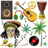 Fotografie Reggae set Abbildung
