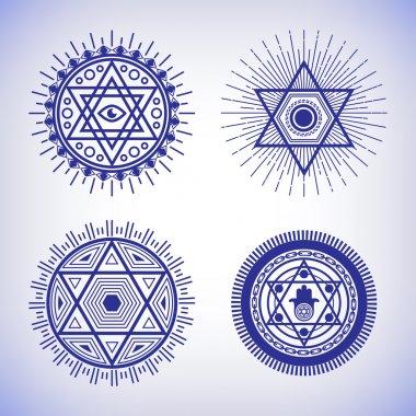 Israel sacred geometry signs