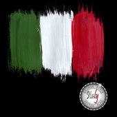 Fotografie Painted grunge Italy flag