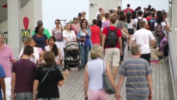 dav maremagnum tržiště most v Barceloně rozmazané