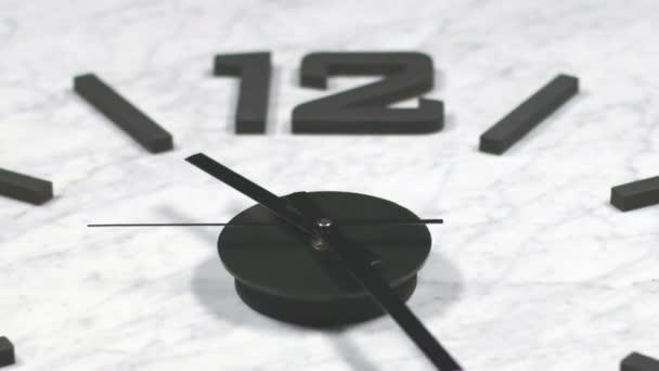 hodiny, rychlý čas zanikla pohybující se vpřed zvětšeno