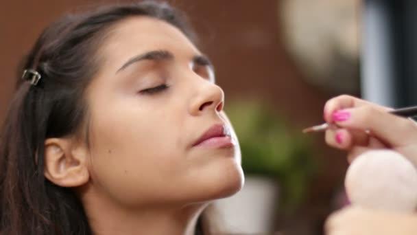 Face Makeup Making Lips Brush