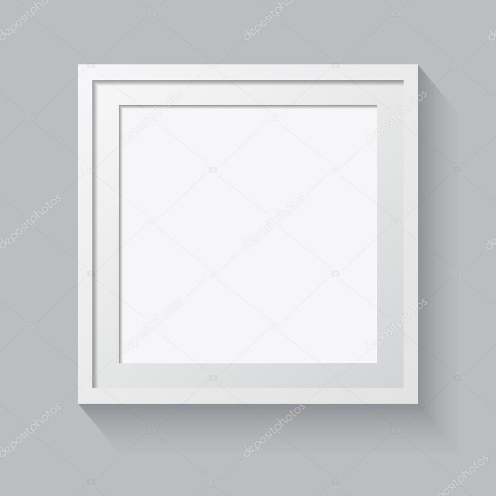 3D Bild-Rahmen-Design für Bild oder text — Stockvektor ...