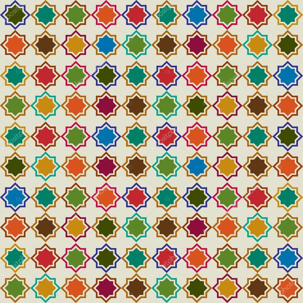 Marokkanische Fliesen Muster U2014 Stockvektor #107241022