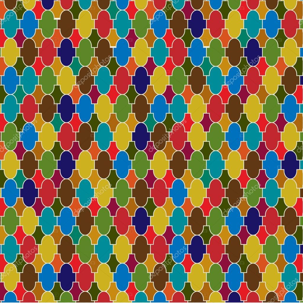 Marockanskt kakel mönster — Stock Vektor © Katyr #111034890