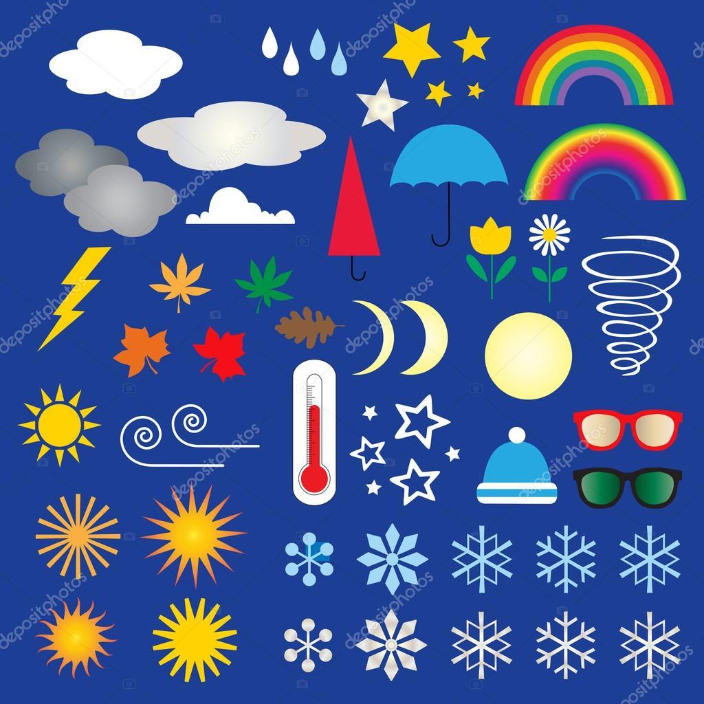 Weather Symbols Clip art