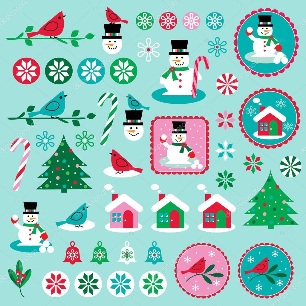Weihnachten ClipArt — Stockvektor © scrapster #69303787