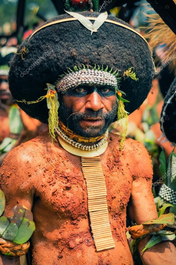 Papua new guinea black people