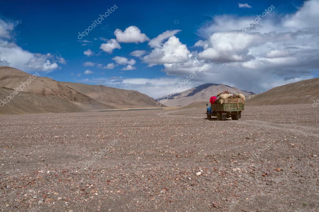 Truck in Tajikistan