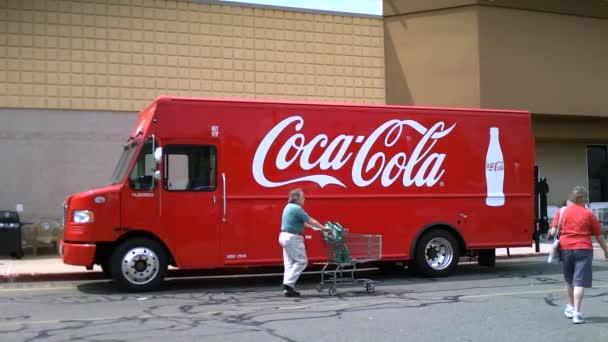 Coca-Cola dodávka
