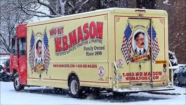 Wb Mason Delivery Truck