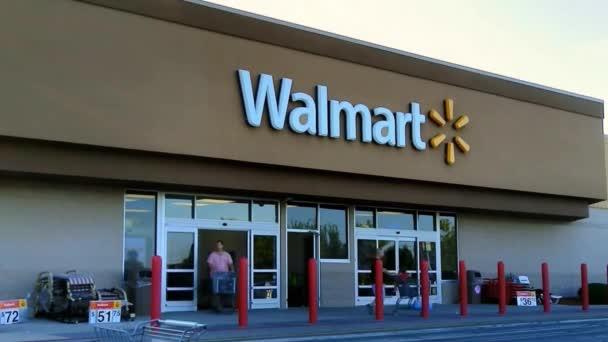 Walmart Storefront Entrance