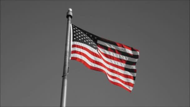 Waving Us Flag