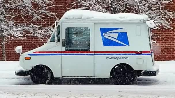 Post Office Mail Truck