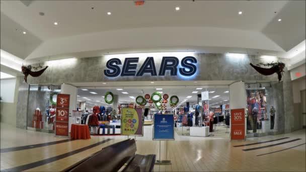 Sears průčelí v obchoďáku