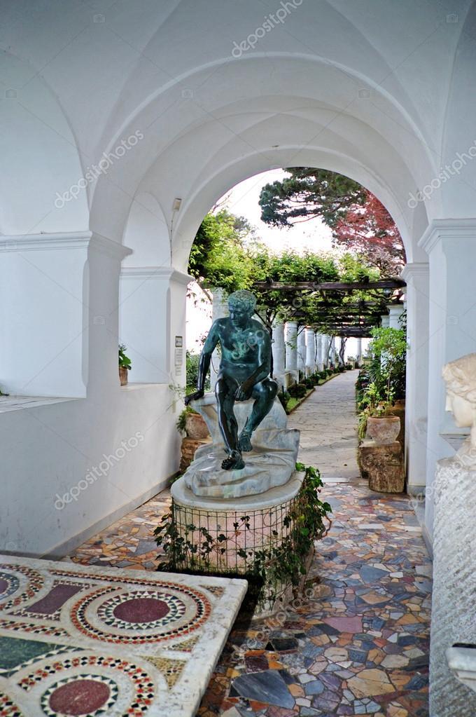 The Villa San Michele At Anacapri On The Island Of Capri In