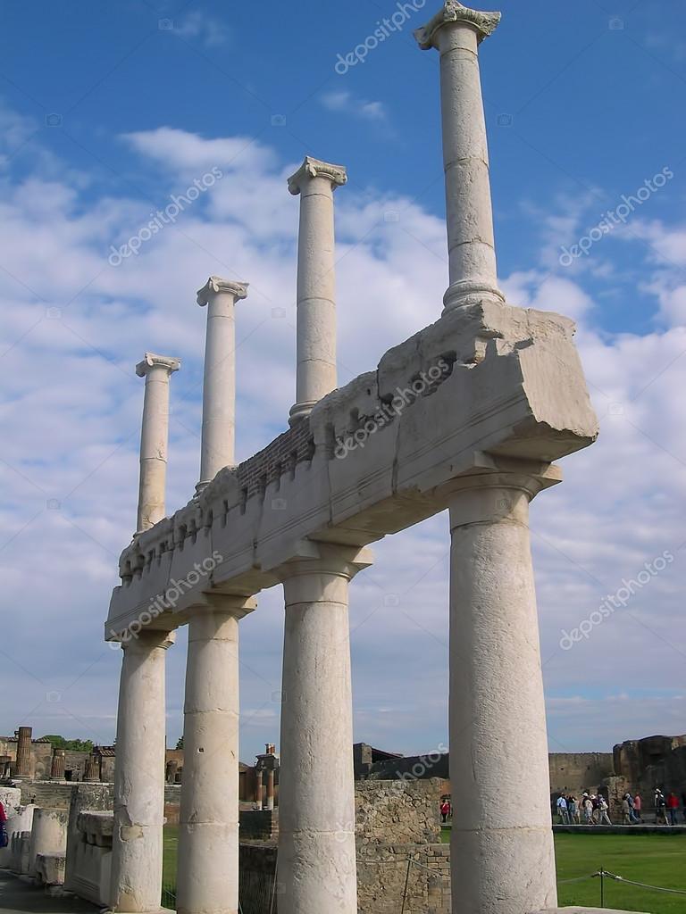 pompeji staden