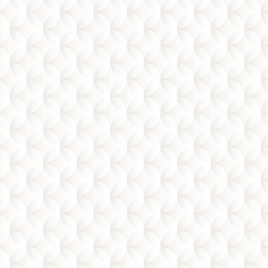 White embossed seamless pattern with circles . stock vector