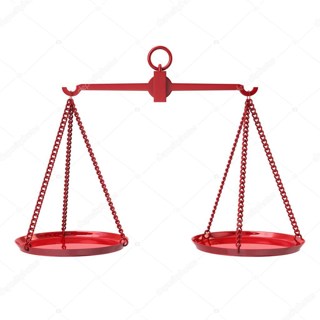 Red justice scales symbol stock photo valdum 117474482 3d illustration of red justice scales symbol isolated on white background photo by valdum buycottarizona Gallery