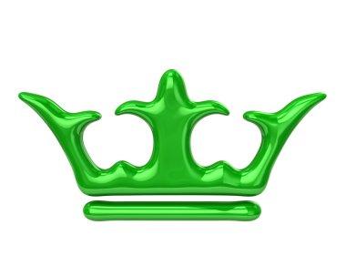 Crown icon on white