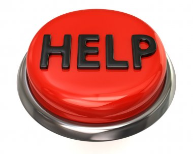 Red help icon