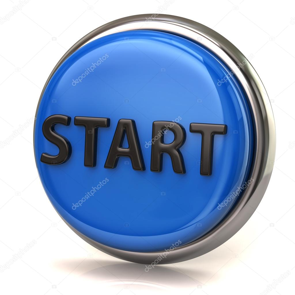 Blue Start Button Www Pixshark Com Images Galleries