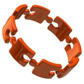 3D puzzle kroužek
