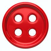 Red cloth button for garments