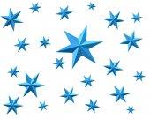 Fényképek Kék csillag háttér