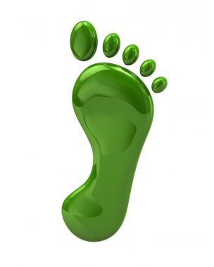 Footstep, footprint icon