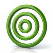 Zelené kolo cíl, cíl