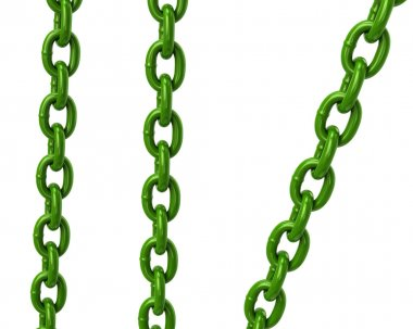 Green chains icons