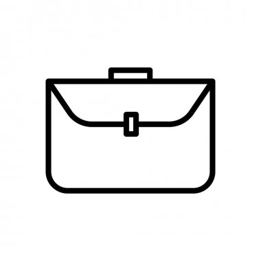 Business bag line icon. Business symbol. simple design editable. design vector illustration icon