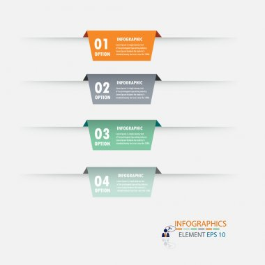 Modern design infographic label element.vector illustrator design background template.
