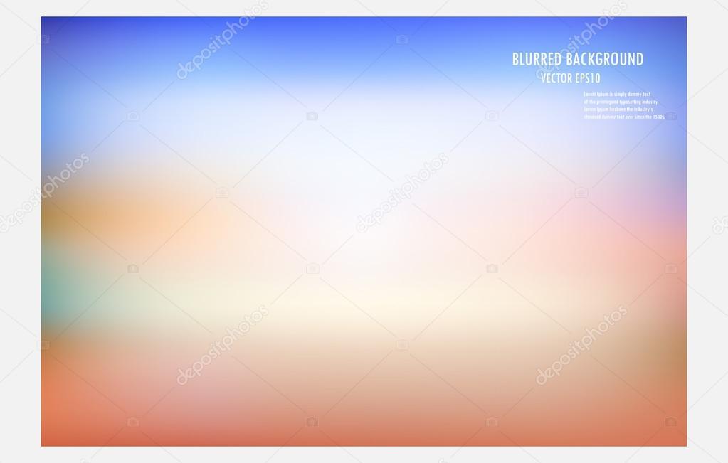 Colorido Fondo Borroso Vector Illustrator Desige Wallpaper
