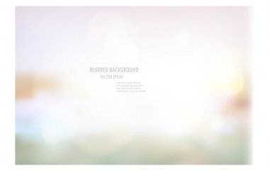 Abstract blurred light background