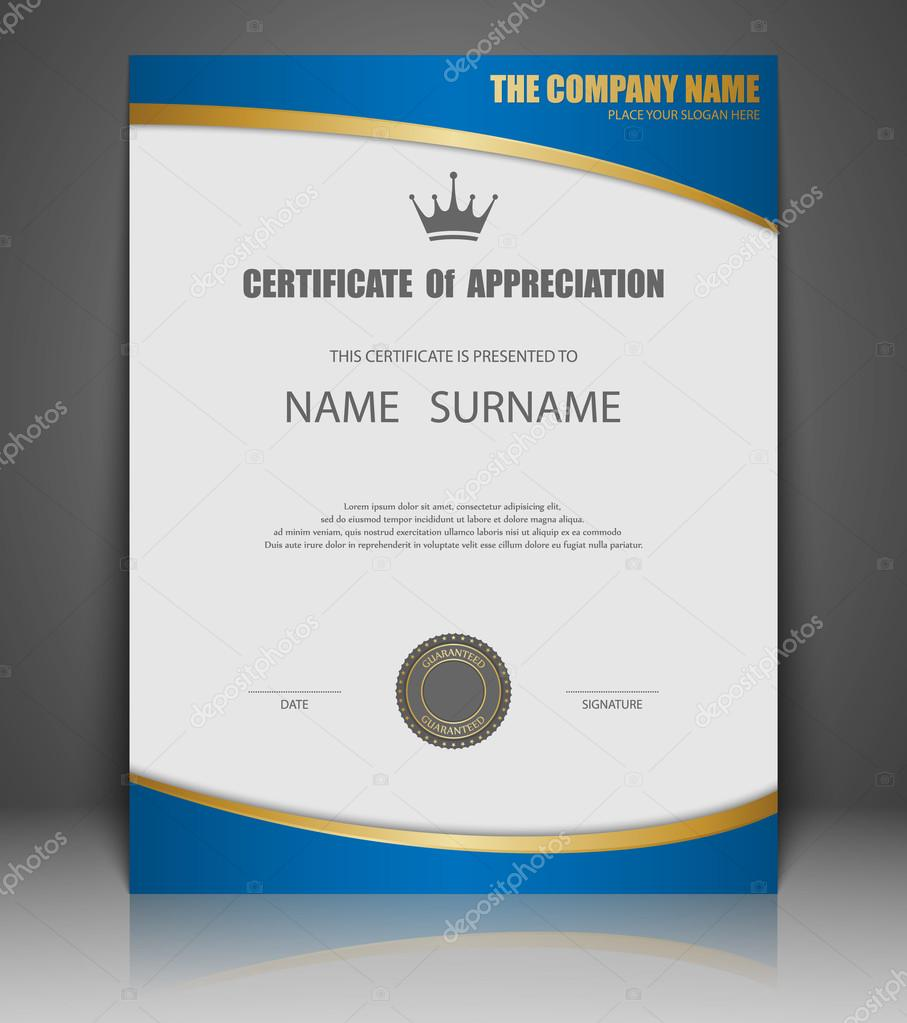 Vector certificate template stock vector sarawuth702 74818229 vector certificate template vector by sarawuth702 yadclub Images