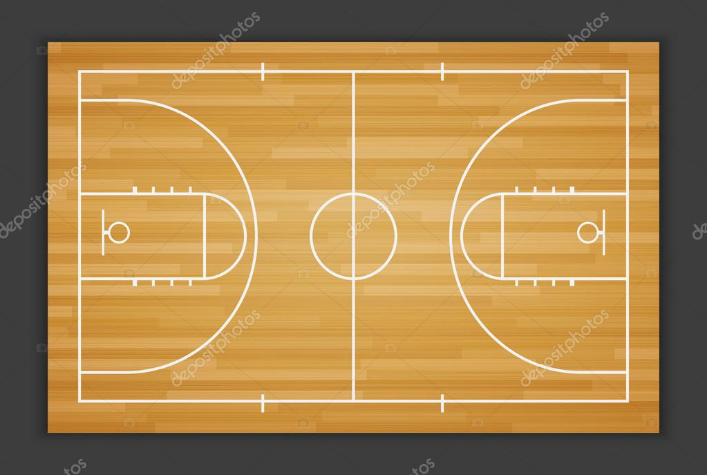 Vektor-Basketball-Field.vector — Stockvektor © sarawuth702 #74842917