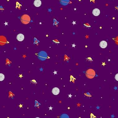 Planets rockets stars