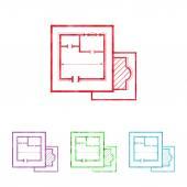 illusztráció vektor ikon