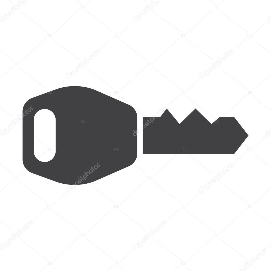 Auto Schlüssel schwarz einfache Symbole festgelegt für web ...