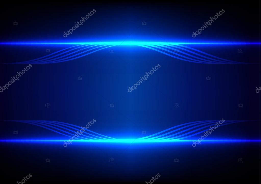 blue abstract light effect - photo #11