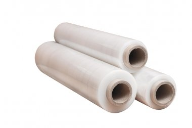 Rolls of wrapping stretch film