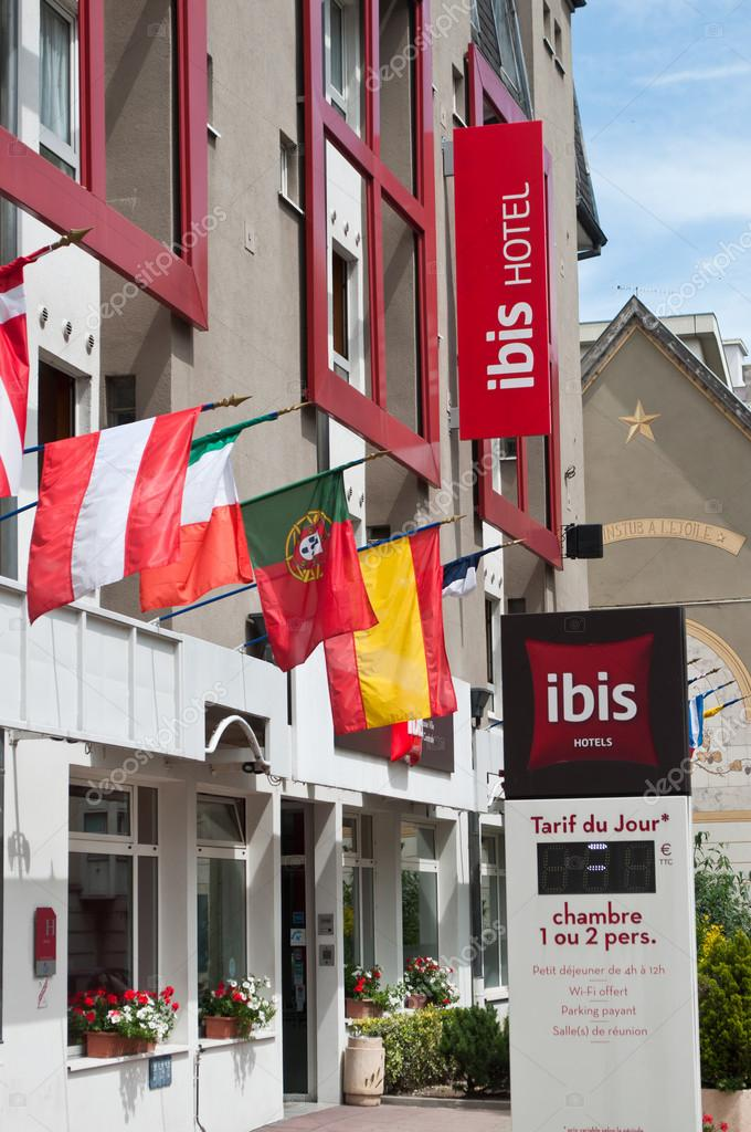 Ibis Hotel French Hotels Chain Signage Stock Editorial Photography
