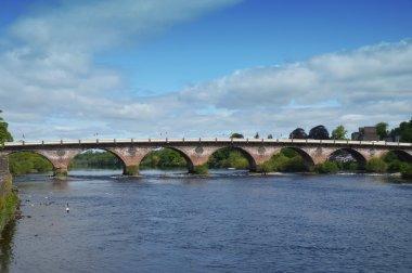 The Old Bridge over the River Tay, Perth, Scotland