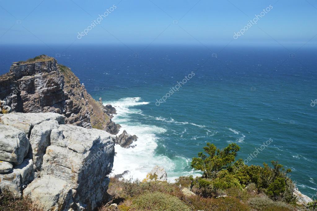 野蛮なビーチと岩ケープオブグッ...
